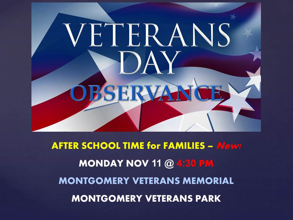 Veterans Day Observance 2019